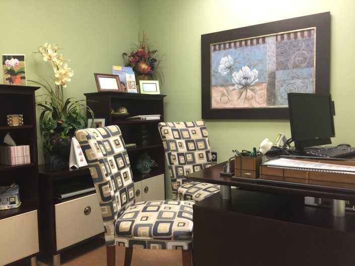 private consult room - periodontist office